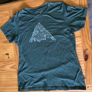 Eddie Bauer Forest Green Hiking T-Shirt